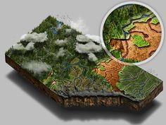 Alberta mini-map.