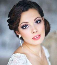 beautiful bridal hairstyles and wedding makeup ideas