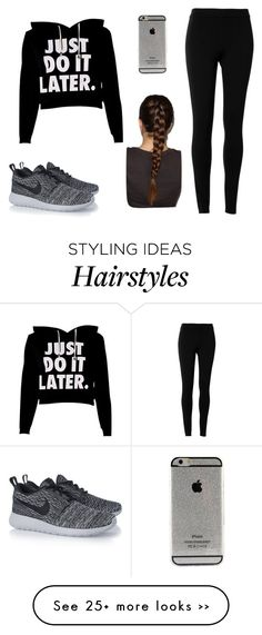 """""""Untitled #1"""" by myahwindley12 on Polyvore featuring Max Studio and NIKE"""