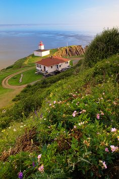 Cape d'Or #Lighthouse, Nova Scotia, #Canada. Along the Bay of Fundy. http://www.darwinwiggett.com/photo.php?id=464&gallery=maritimes