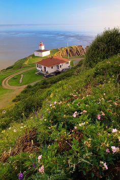 Cape d'Or Lighthouse, Nova Scotia, Canada