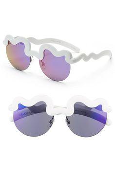 Craig and Karl x Le Specs 'Hi Brow' 57mm Sunglasses | Nordstrom
