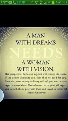 Good man+good woman=US