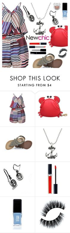 """""""NEWCHIC - CRAB CROSSBODY BAG"""" by deborah-calton ❤ liked on Polyvore featuring deVos Jewellery, Christian Dior, Chanel, JINsoon, Urban Decay and newchic"""