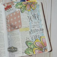 Joel I will restore to you the years that the swarming locust has eaten. Learn The Bible, My Bible, Bible Art, Bible Journaling For Beginners, Art Journaling, Scripture Quotes, Scriptures, Illustrated Words, Worship God