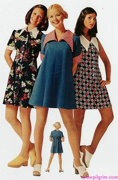 fashion favorite: early 70s sears catalogs