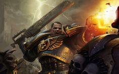 Captain Titus vs Chaos space marine