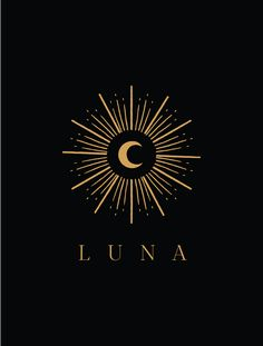 Moon Star Tattoo, Star Tattoos, Tatoos, Logo Lune, Floral Logo, Tattoo Floral, Moon Logo, Sun Moon Stars, Constellation Tattoos