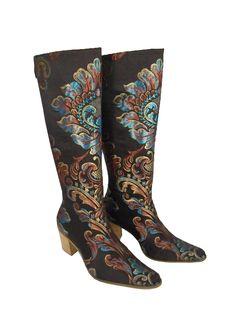 Anatolian Turquoise - Cuban Heel