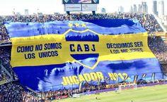 Hoy 12/12  Feliz día del hincha de Boca Juniors!