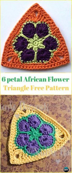 ideas for crochet mandala free pattern african flowers Crochet Fox, Crochet Mandala, Crochet Motif, Crochet Stitches, Crochet Patterns, Free Crochet, Shorts Crochet, Bikinis Crochet, Crochet Shoes
