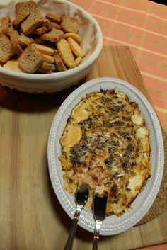 Receitas ao Desafio: Paté de queijo creme com azeitonas