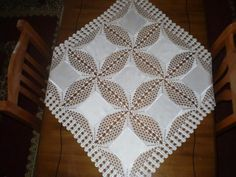Crochet Lace Edging, Filet Crochet, 257, Crochet Tablecloth, Table Toppers, Learn To Crochet, Quilts, Stitch, Victorian