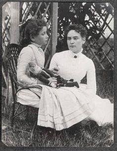 Helen Keller meets her miracle worker | March 3, 1887