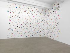 Brad Troemel; COMPLETE McDonalds Furby Collection 1998 (All 98 Furbies released); 2015. Acrylic handholds and furbies, dimensions variable. Image courtesy of the artist and Zach Feuer Gallery, New York.