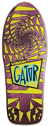 "Model: Mark ""Gator"" Rogowski (second version)  Artist: Greg Evans  Company: Vision  Release Date: 1988"