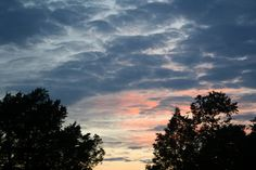 Clay County, Kentucky sunset in September