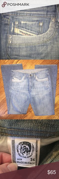 Women's Diesel jeans...Size 26 Women's Diesel jeans...Size 26...from a smoke free home! Diesel Jeans