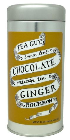 Chocolate Ginger Bourbon Tea by mollyhatch on Etsy, $16.00