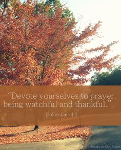 A Thankfulness Prayer – Sisters on Our Knees