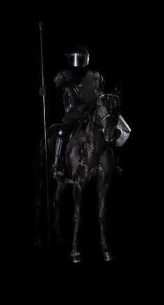 Clément Cogitore - Le chevalier noir - 2012 - C-Print