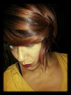 Colore autunno 2014.. Hombre hair biondo scuro rosso  rame