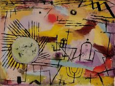"""«Paul Klee: """"Rising Sun""""»."""