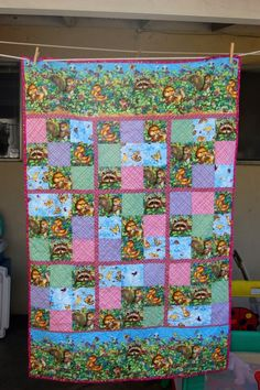 just love this sudoko baby quilt