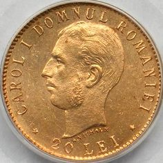 20 lei 1906 Buy Edibles Online, Buy Weed Online, Gold And Silver Coins, Gold Bullion Bars, Coin Display, Rocks For Sale, World Coins, Gold Price, Pennies