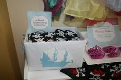 Pirate and princess party