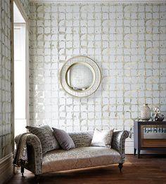 interior design fabrics - Interior Design lassic, Vintage urelia Fabric by Harlequin ...