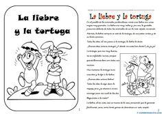 II>★★★★ La liebre y la tortuga - Recursos educativos y material didáctico para niños de primaria. Descarga La liebre y la tortuga gratis.