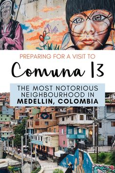 Essential things to know before you visit Comuna the most vibrant neighbourhood in Medellin, Colombia. : Essential things to know before you visit Comuna the most vibrant neighbourhood in Medellin, Colombia. Visit Colombia, Colombia Travel, Brazil Travel, Peru Travel, Travel List, Usa Travel, Travel Advice, Travel Guides, Backpacking South America
