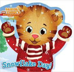 Amazon.com: Snowflake Day! (Daniel Tiger's Neighborhood) (9781481417716): Becky Friedman, Jason Fruchter: Books