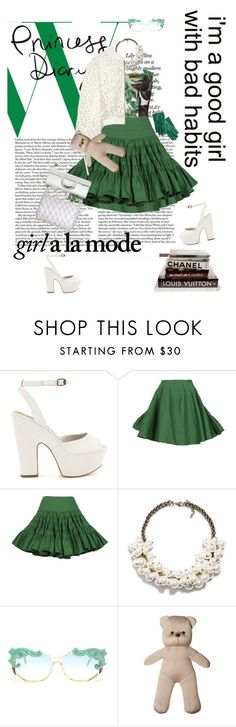 """""""It's soooo Rainy in Germany.. Summer I miss you!!!"""" by vilen ❤ liked on Polyvore featuring Nly Shoes, Alaïa, Alexander Wang, Zara, Veronique Leroy, MOO, Agnona, Hannah Marshall and Dries Van Noten"""