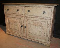 Antique Pine Dresser Base - Antique DRESSERS / DRESSER BASES