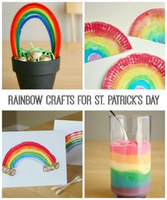 Celebrate St. Patrick's Day with 30+ fun crafts, recipes, and activities. From leprechauns and shamrocks to rainbows and gold!