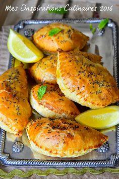 Chaussons aux épinards | Le Blog cuisine de Samar