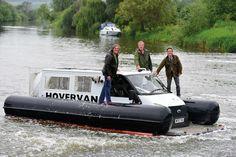 Top Gears Mk2 Hovervan at Beaulieu
