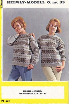 Janne Colour Combinations, Knitting Patterns, Men Sweater, Sweaters, Color, Fashion, Scale Model, Color Combos, Moda