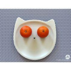 assiette chat Concept, Paris, Happy, Desserts, How To Make, Food, Bonjour, Gift Ideas, Tableware