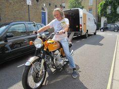 James May and motorcycles