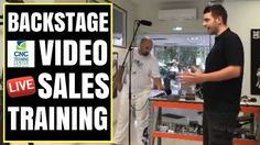 Live sales training and presentation training for CNC training center in Greece. How to make a sales training video live for CNC training seminars. Success Video, Training Center, Entrepreneurship, Cnc, Presentation, How To Get, Live, Camera Phone, Business