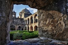 Mission San José, San Antonio Missions National Historical Park or Mission Trail, San Antonio, Texas - established in 1720,  this church still holds regular services that are open to the public. by Steven Ng