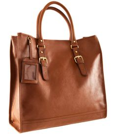 H&M faux leather tote with brass hardware. Saw this today and swooned.