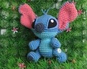 Lilo  and Stitch set - PDF crochet pattern. $12.50, via Etsy.