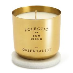 Scented Candle Orientalist, $80,  by Tom Dixon !!
