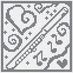 WitchWolfWeb Creations: filet crochet flute