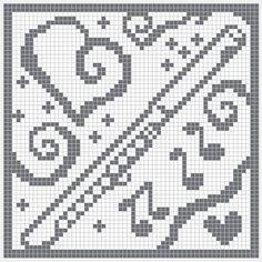 WitchWolfWeb Creations: filet crochet flute
