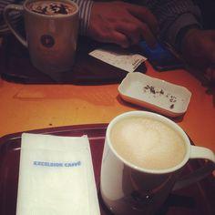 [ラーメン部反省会*2013/01/30]     こーしーたいむ☕       @EXCELSIOR CAFFE お茶の水店
